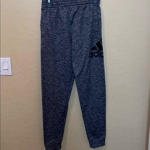 Adidas jogger style sweats
